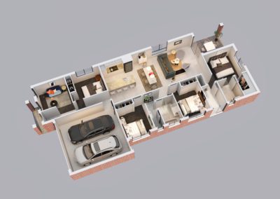 Lot 358 3D Floor Plan